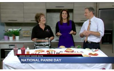 Celebrating National Panini Day