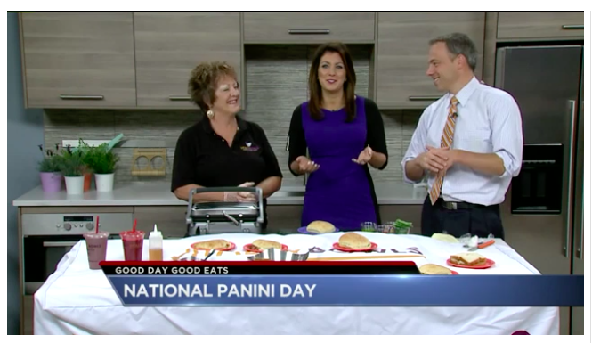 Celebrating National Panini Day