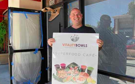Vitality Bowls Superfood Cafe to Open This Summer in Vacaville