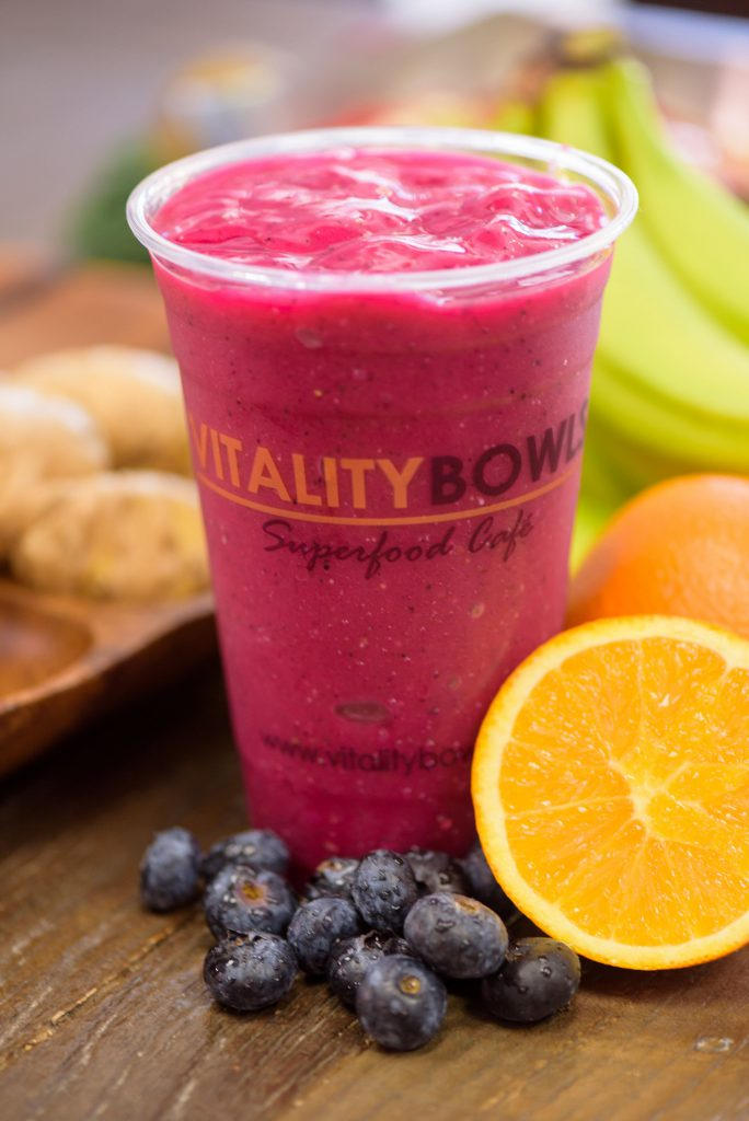 Smoothie at Vitality Bowls