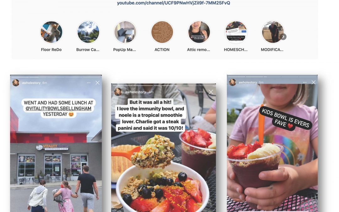 Autumn, @awholestory Posts About Vitality Bowls Bellingham