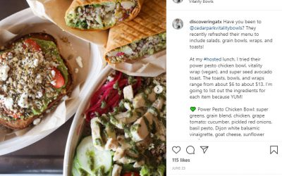 @discoveringatx Posts about Vitality Bowls Cedar Park
